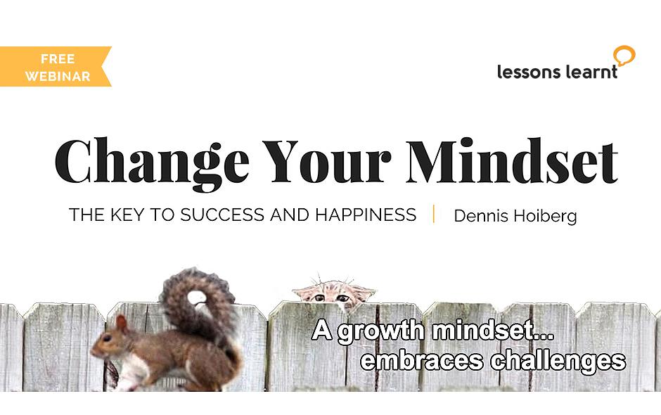Free Webinar: Change Your Mindset.