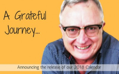 A Grateful Journey & Release of 2018 Calendar