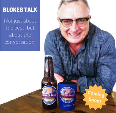 Lessons Learnt Consulting Blokes Talk - Beer by Dennis Hoiberg to encourage open conversations amongst men.
