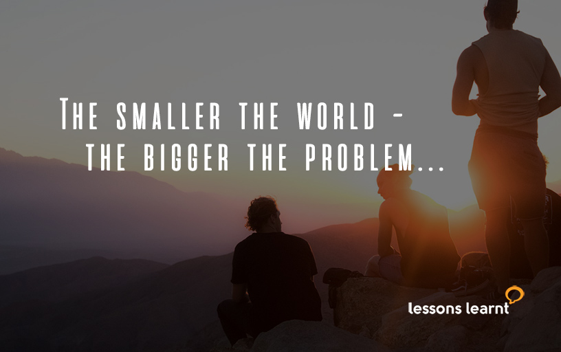 Live large Lessons Learnt Consulting Blog.