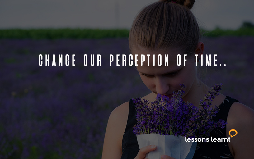 Change our perception of time - lessons learnt consulting blog.